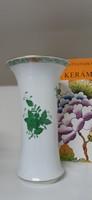 Herendi porcelán Apponyi mintás váza hibátlan gyönyörűség