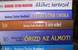BARBARA TAYLOR BRADFORD KÖNYVCSOMAG
