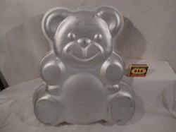 Fém - alumínium - NAGY - 34 x 31 x 5 cm - AKASZTHATÓ - sütőforma - dekorácíónak is