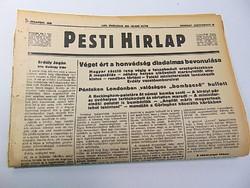 Véget ért a honvédség diadalmas bevonulása   - Pesti Hírlap 1940 szept. 14.