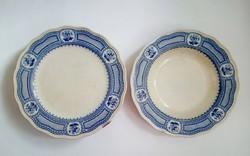 5db Brown-Westhead Moore viktoriánus porcelán tányér, 1860