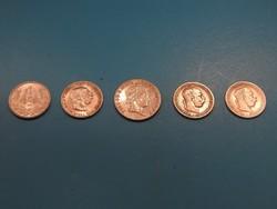 Ezüst 1 Koronák, 1 Pengő és egy ritkább 20 krajcár 1843C