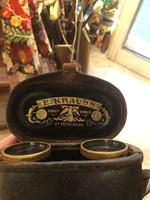 Gyönyörű, XIX.századi vadász távcső, eredeti dobozában.