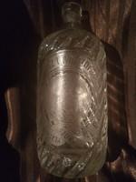 Gyògyszertári szòdásüveg(Gyògyszertár Az Üdvözítőhöz)