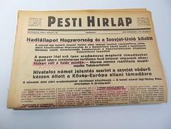 Hadiállapot Magyarország és Szovjet - Unió között   -  Pesti Hírlap 1941 jun, 28.