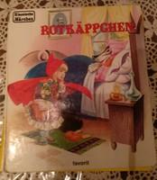 Rotkäppchen. Piroska és a farkas. Favorit kiadó. Német nyelvű mesekönyv, ajánljon!