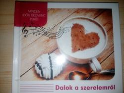 Dalok a szerelemről médiaalbum 3 db CD-vel