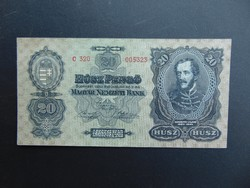 20 pengő 1930 C 320 Szép ropogós bankjegy !