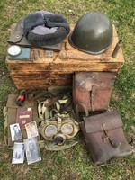 Katonai gyűjtemény - felszerelések