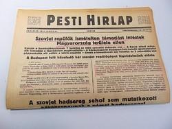 Szovjet repülők támadást intéztek Magyarország ellen  -  Pesti Hírlap 1941 jun, 27.