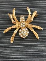 Különleges pók bross