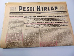 Amerikában bezárták az olasz konzulátusokat   -  Pesti Hírlap 1941 jun, 22.