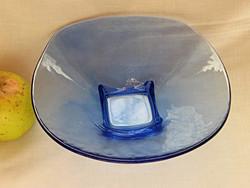 Kék skandináv művészi üvegtál