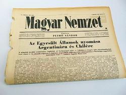 Egyesült Államok nyomása Argentínára és Chilére   -  Magyar Nemzet  1942. jún. 11.