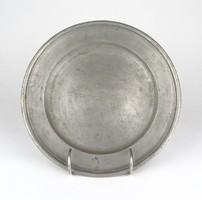 0Z153 Antik jelzett óntányér 23 cm