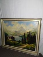 1,-Ft Schreiner 1957-es meseszép festménye!