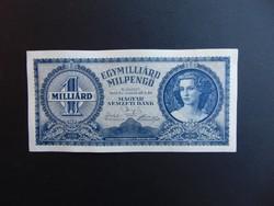1 milliárd milpengő 1946 Hajtatlan bankjegy ! 02