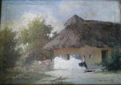 Ács Ágoston festmény
