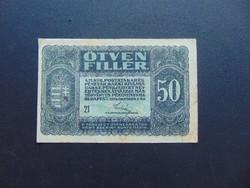 50 fillér 1920  21 sorszám