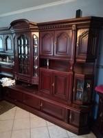Olasz mahagóni szekrény