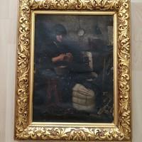 Antik festmény 1000 Forintról