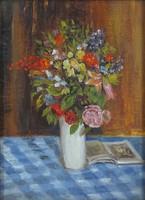 0Z144 Tattenbach : Asztali virágcsendélet 1912