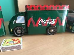 Coca-Cola Nagyméretű Kamion - Doboz - Játék - Persely - Tartó - Tároló - Coca Cola