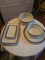 Hollóháza tányérkészlet 58 részes