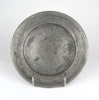 0Z154 Antik jelzett óntányér 21 cm