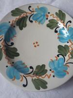 Városlődi majolika tányér-16 cm