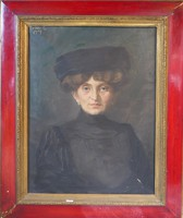 Kende Géza: Női portré 1909