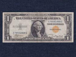 USA RITKA 1 Dollár  sárga pecséttel, katonai célú, Észak-Afrika és Szicília II VH 1935 A / id 17276/