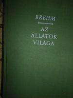 Brehm : Az állatok világa Színes eredeti litográfiákkal II.kötet Halak, rákok, békák, hüllők
