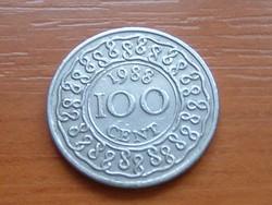 SURINAME 100 CENT 1988 #
