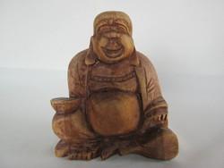 Buddha szobor fafaragás