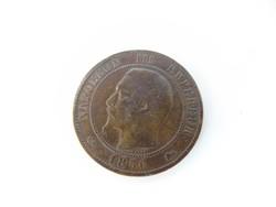 10 centimes 1856 Franciaország