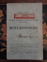 TAKARÉKBETÉT - KÖNYVECSKE 1912-14-ig