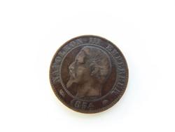 5 centimes 1854 Franciaország