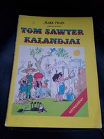 Tom Sawyer kalandjai-Képregény.-Dargay Attila rajzaival.