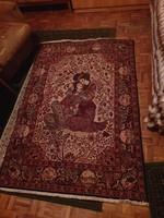 Jelenetes gépi gyapjúszőnyeg