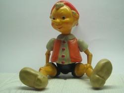 Régi orosz Pinokkió bábu