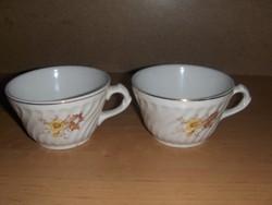 Régi Gránit teáscsésze csésze párban (19/d)