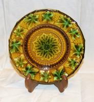 Antik Hornberg majolika tányér