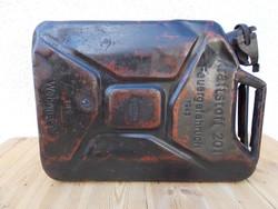II. világháborús Wehrmacht 20 literes benzines kanna, 1943-as