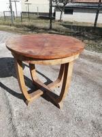 Gyönyörű formájú antik asztal  / széthúzható dohányzóasztal - A közelbe kiszállítom