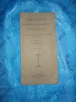 Régi könyv vasszerkezetek súlyszámítása 1923