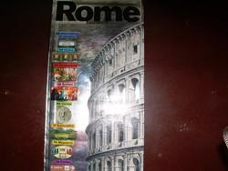 Róma és Madrid útikönyvek rengeteg képpel idegen nyelvű!