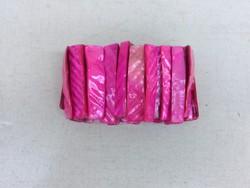 Pink gyöngyház karkötő