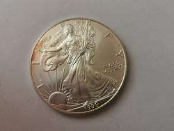 1999 USA liberty ezüst 31,1 gramm 0,999