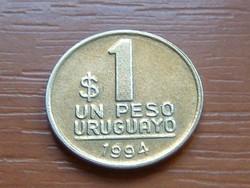 URUGUAY 1 PESO 1994 ARTIGAS #